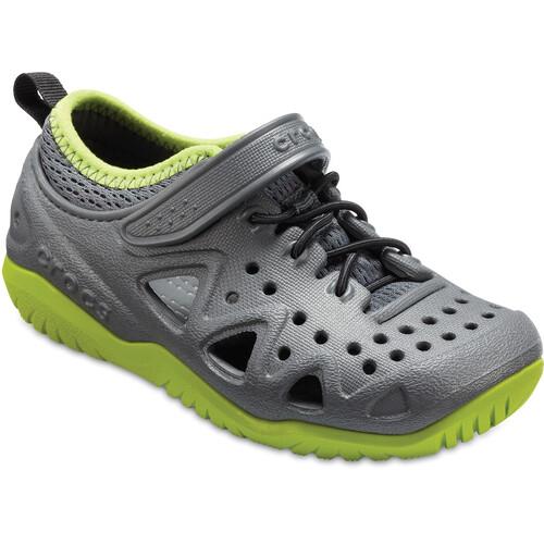 Crocs Swiftwater Play - Chaussures Enfant - gris sur campz.fr !